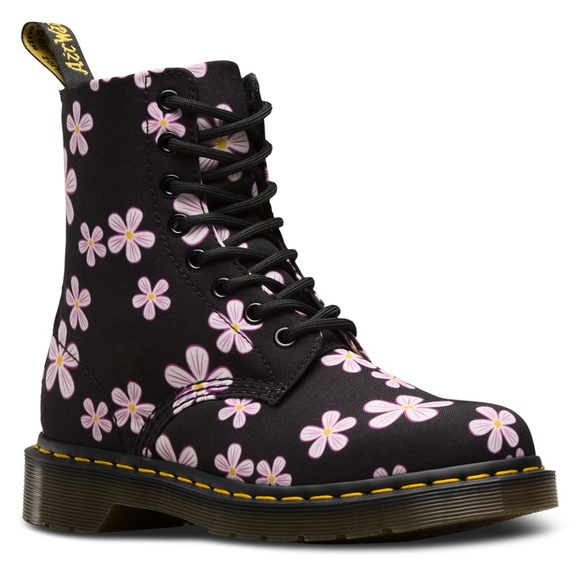 dbe3a811f1 Dr. Martens Shoes | Sale Dr Martens Page Meadow Flowers Boots | Poshmark